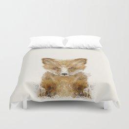 little fox cub Duvet Cover