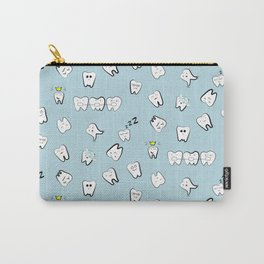 Teeth pattern Carry-All Pouch