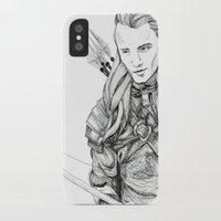 legolas iPhone & iPod Cases featuring Legolas by Margret Stewart