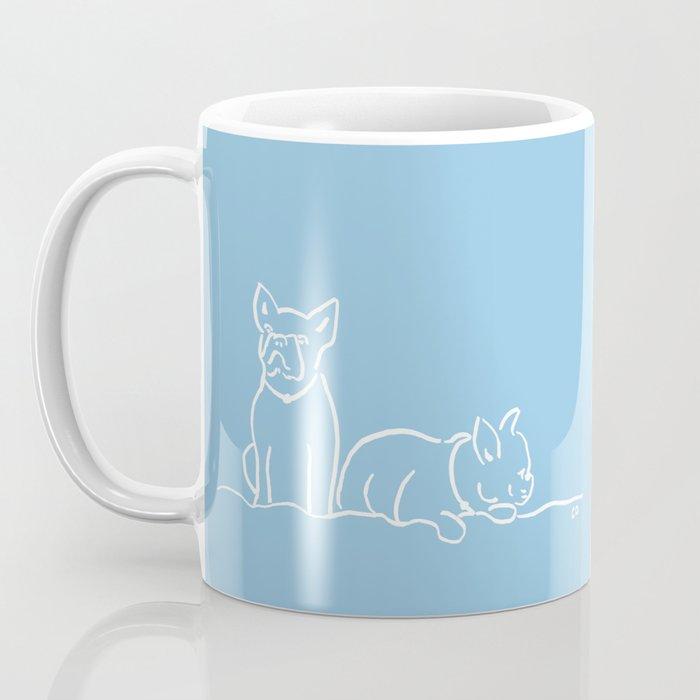 City Dogs {Frenchies} Coffee Mug