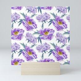 Lilac Peonies Mini Art Print
