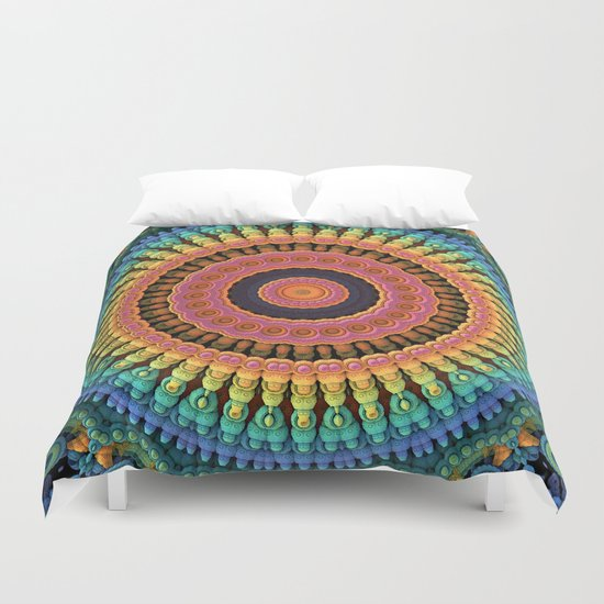 Mandala to the Max Duvet Cover