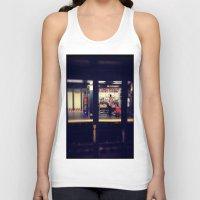 subway Tank Tops featuring Subway by Alissa Fleck