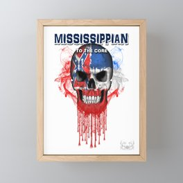 To The Core Collection: Mississippi Framed Mini Art Print