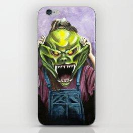 The Haunted Mask iPhone Skin