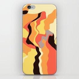 Autumn Wiggles iPhone Skin
