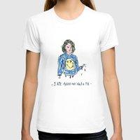 kurt cobain T-shirts featuring Cut Cobain / Colored by Nü Köza