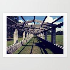 perspective Art Print