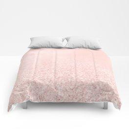 Blush Glitter Pink Comforters