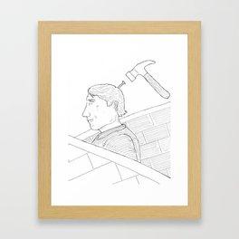 Tormentum Framed Art Print