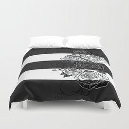 Inverted Roses Duvet Cover