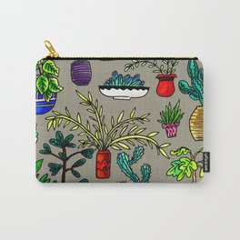 I Want All the Plants Carry-All Pouch