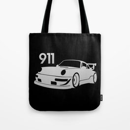 Porsche 911 - silver - Tote Bag