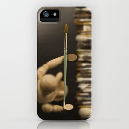 Love of art iPhone Case