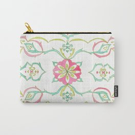 #98. SELENE (Symmetrical Floral Design) Carry-All Pouch