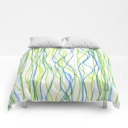 Wavy Water Comforters