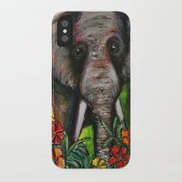 dumbo iPhone & iPod Cases featuring Dumbo by Megan Bailey Gill
