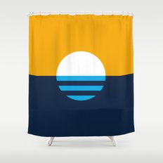 The People's Flag of Milwaukee Shower Curtain