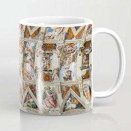 Vatican: Michelangelo's Sistine Chapel / Creation of Adam Coffee Mug