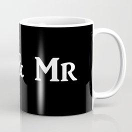 Mr & Mr Monogram bold Coffee Mug