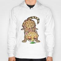 cheetah Hoodies featuring Cheetah by Suzanne Annaars