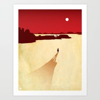 red dead redemption Art Prints featuring Top 3 Games 2010: Red Dead Redemption by Brad VandenBerg