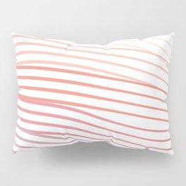 Pink Stripes Pillow Sham