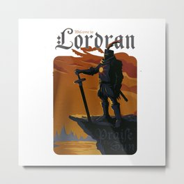 lordran prise the sun Metal Print