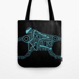Tron Legacy: Light Cycle Tote Bag