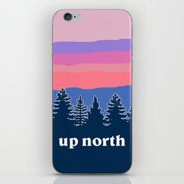 up north, pink hues iPhone Skin