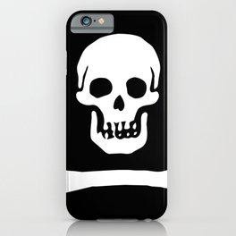 Stede Bonnet Pirate Flag Jolly Roger iPhone Case