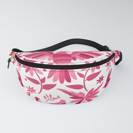 Mexican Otomi Design in Pink Fanny Pack
