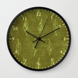Ancient Forest Wall Clock