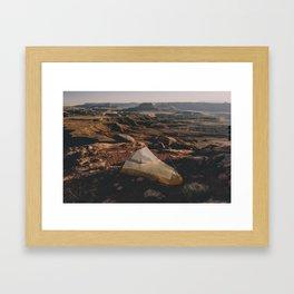 Camp Canyonlands Framed Art Print