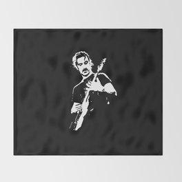 Zappa Guitar Throw Blanket