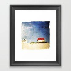 cottages Framed Art Print