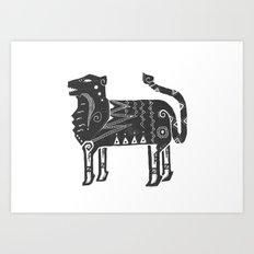 Panthera Tigris Sumatrae Art Print