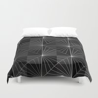 diamond Duvet Covers featuring Diamond by Dood_L