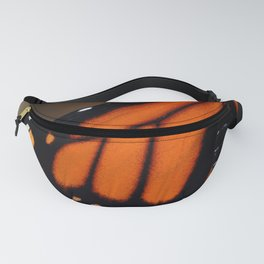 Wing of a Monarch Fanny Pack