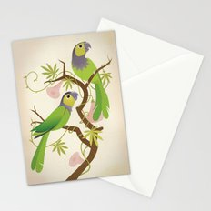 Black-capped conure Stationery Cards