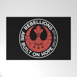 Rebellions are Built on Hope Welcome Mat