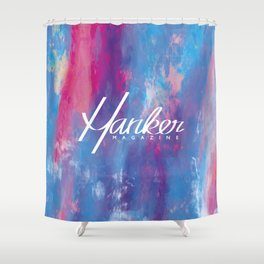 Hanker Magazine – Issue Six w/ Logo V1 Shower Curtain