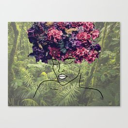 Flores Salvajes (Wild Flowers) Canvas Print