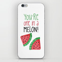 One In A Melon iPhone Skin