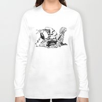 crab Long Sleeve T-shirts featuring Crab by Cowbird
