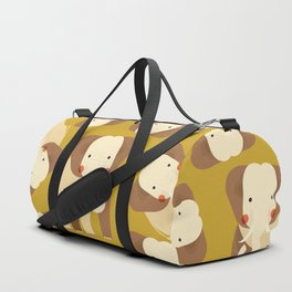 Elephant, Animal Portrait Duffle Bag