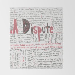 La Dispute Lyrics Throw Blanket