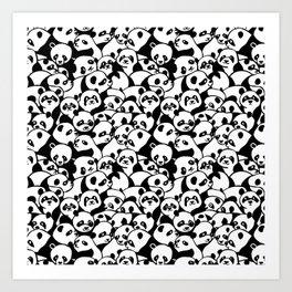Oh Panda Art Print