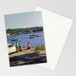 Marion Village in Rockport - Camden, Maine in the early 1960's, Retro Harbor Stationery Cards