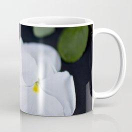 Lavandula and a Pansy Coffee Mug